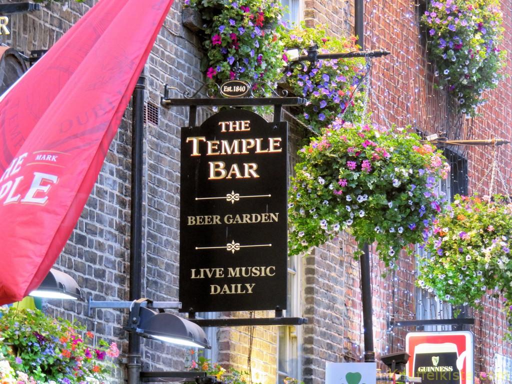 die berühmte Temple Bar!