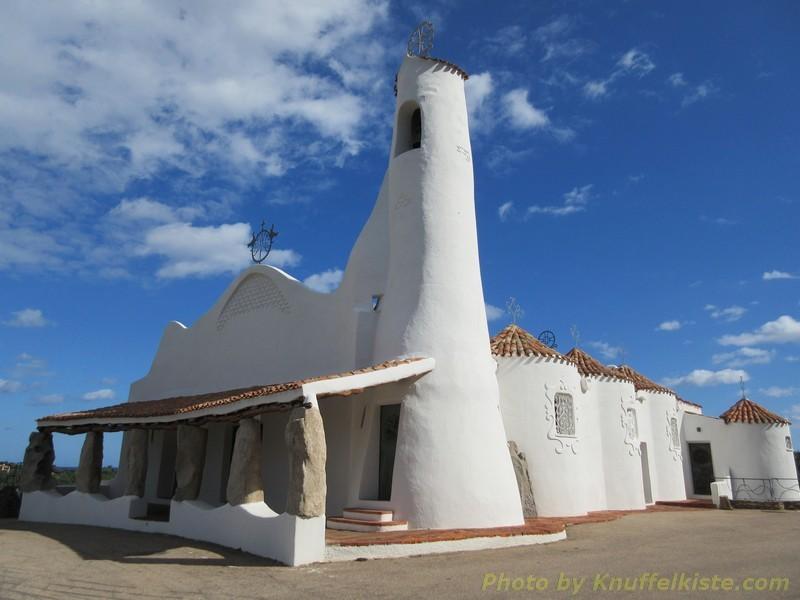 wunderschön: die Kapelle von Porto Cervo!