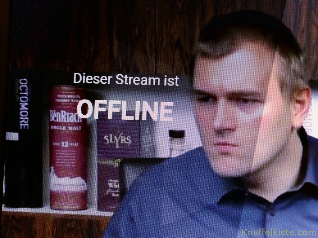offline und ende des Livestream.