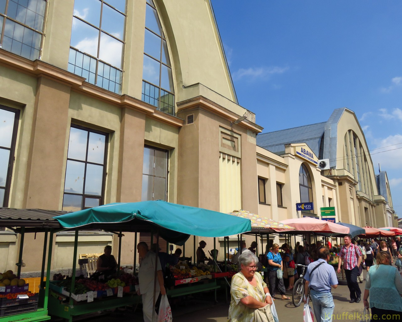 Markthallen von außen