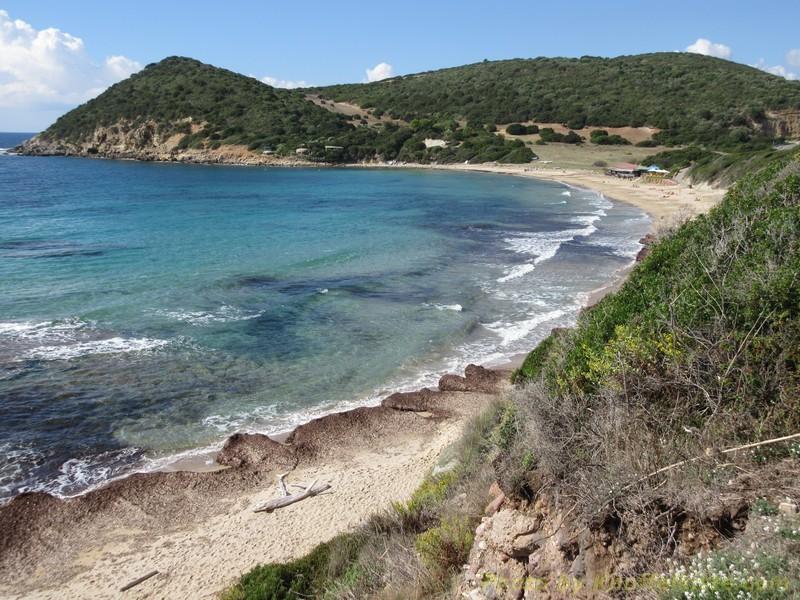 Der Strand wo wir sind
