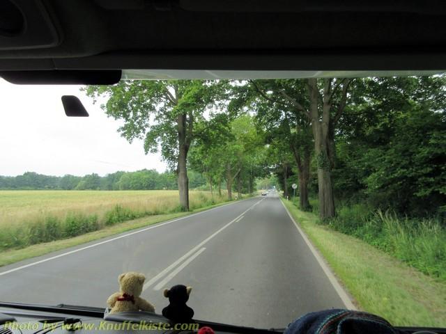 Fahrt richtung Rügen