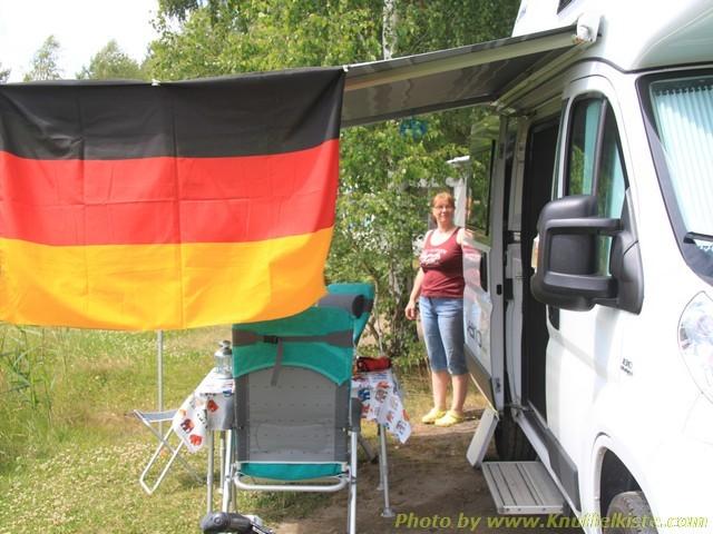 wie man sieht heute spielt Deutschland !