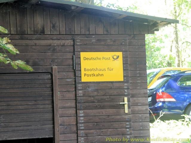 Kahnhaus der Deutschen Post!