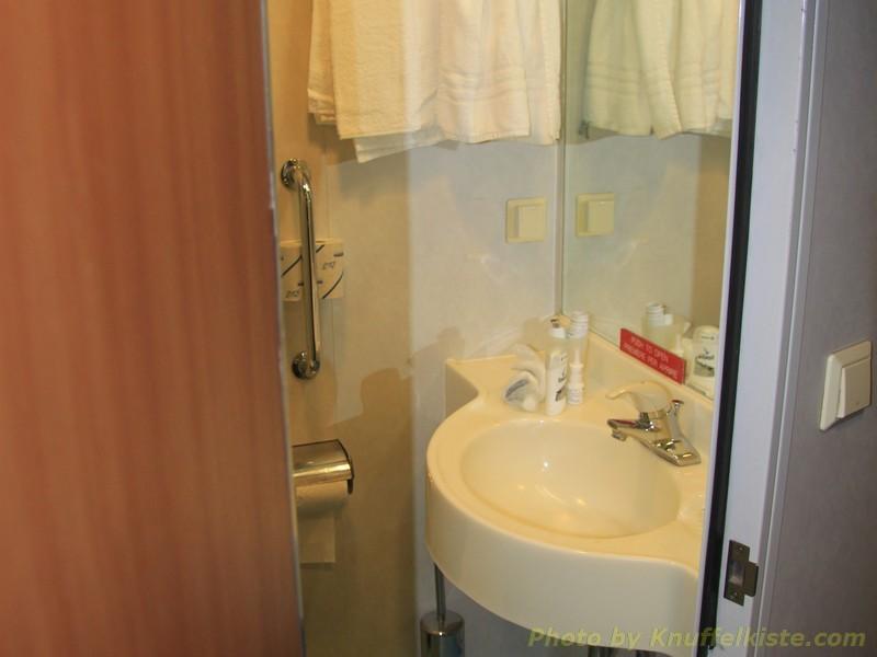 Badezimmer und Toilette