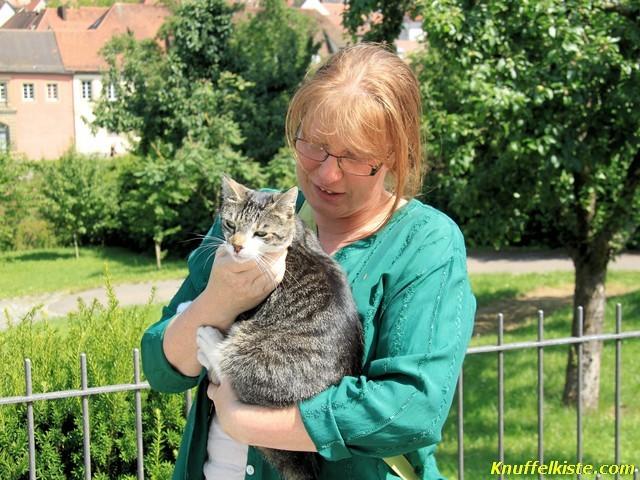 Gabi mit Katze