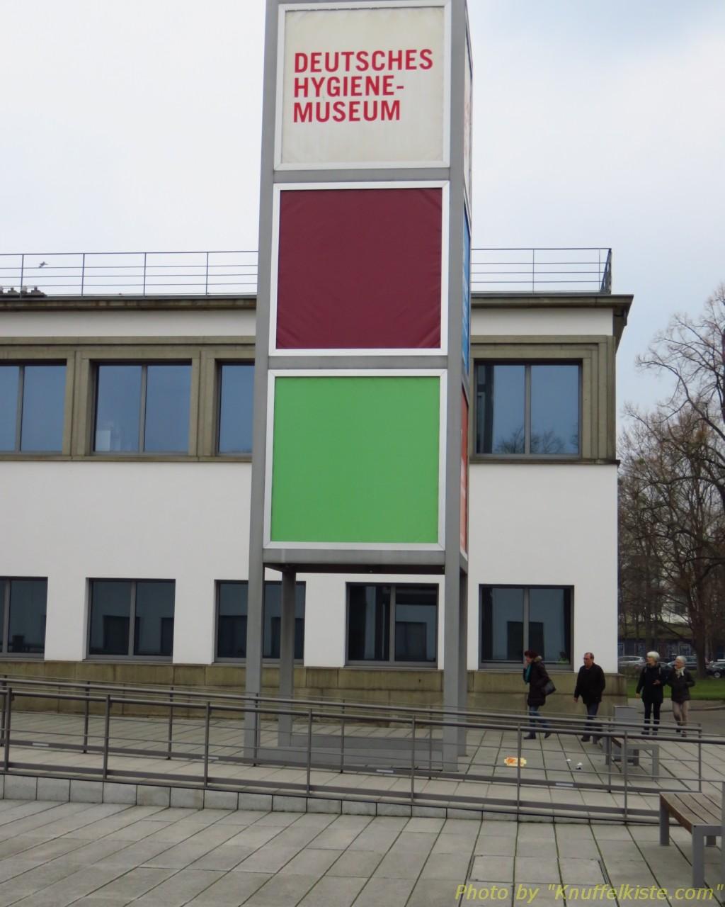 """Dann ging´s zum """"Deutschen Hygiene Museum Dresden"""""""