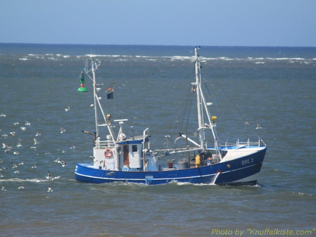 Fischkutter wieder in Action!