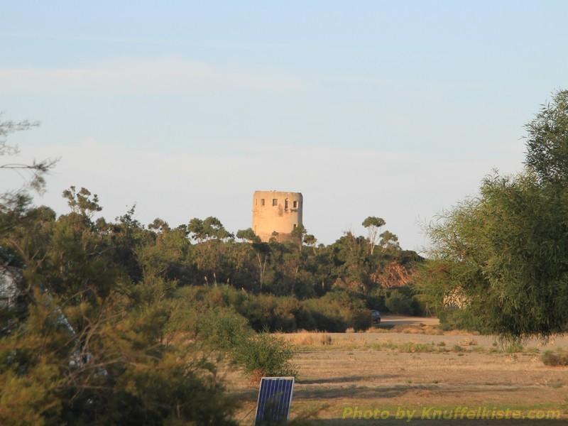 der Turm am Capo Corallo