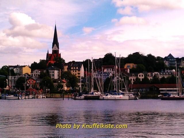 """Blick über den """"Historischen Hafen"""""""