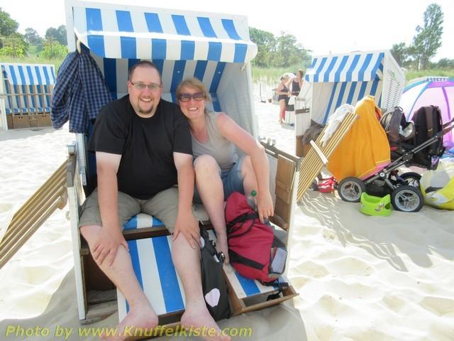 in Göhren am Strand mit...