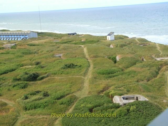 Bunkeranlagen von oben