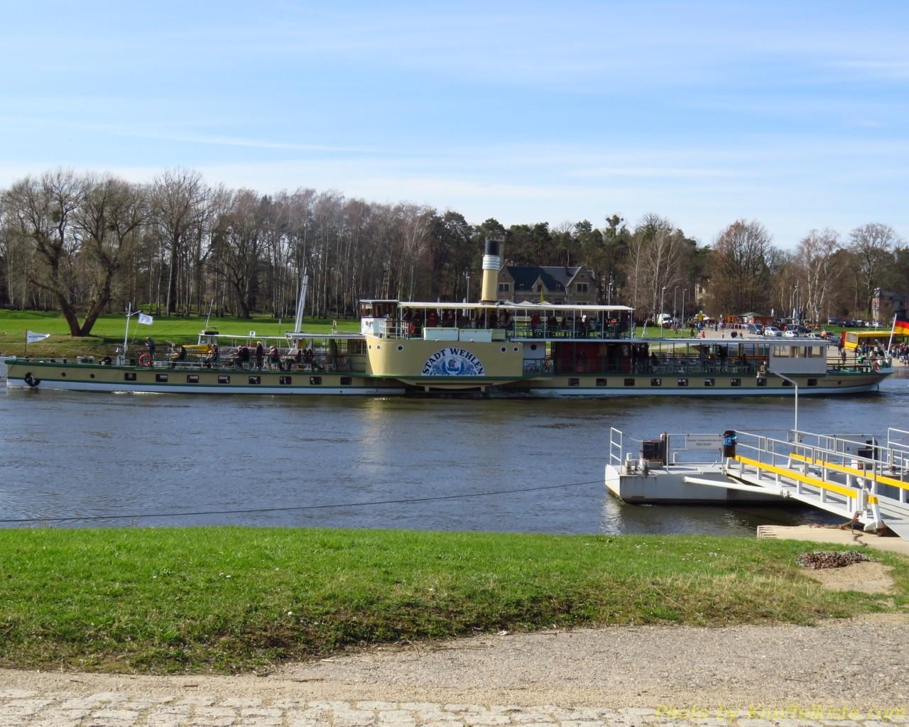 """Dampfer """"Stadt Wehlen"""""""