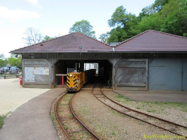 Der Bahnhof der Bergbahn
