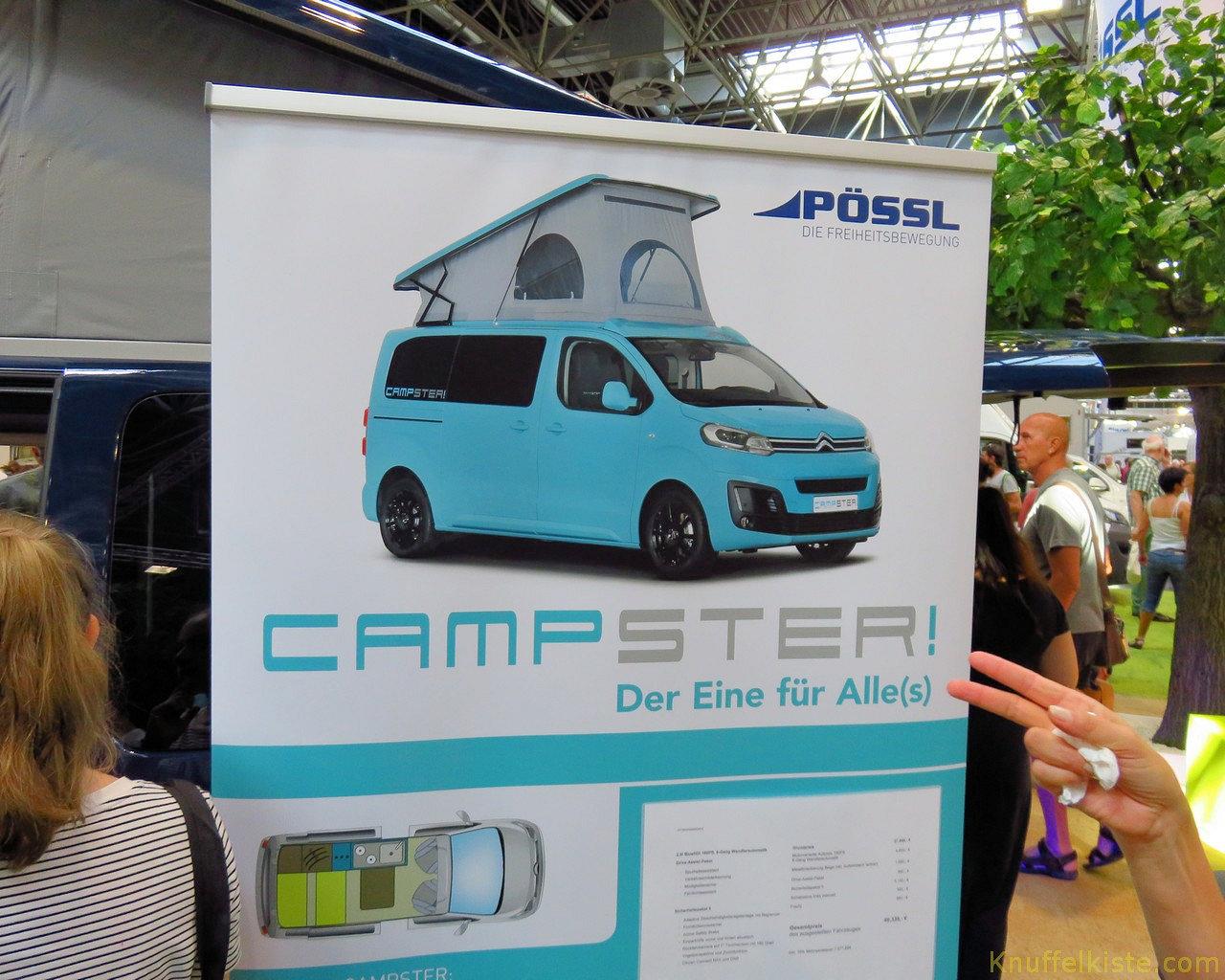 der neue Pössl Campster!
