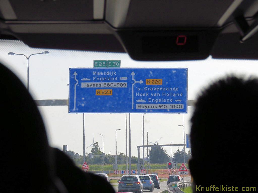 Richtung Hoeck v. Holland