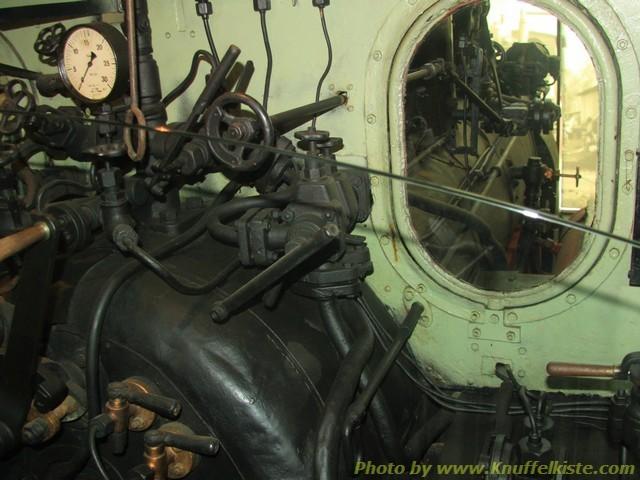 Leitstand der Lokomotive