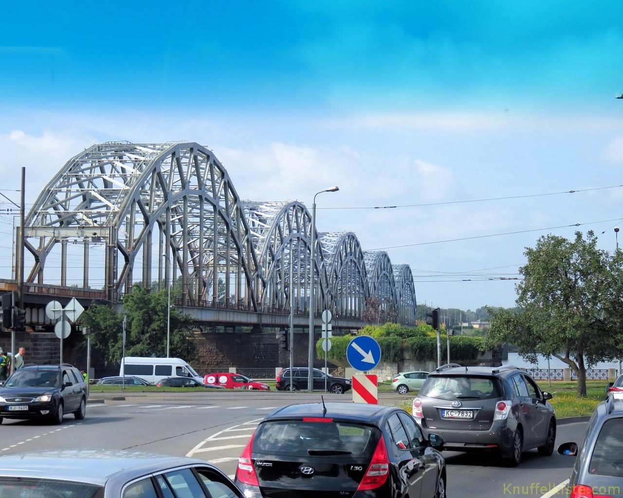 Brücke in Riga