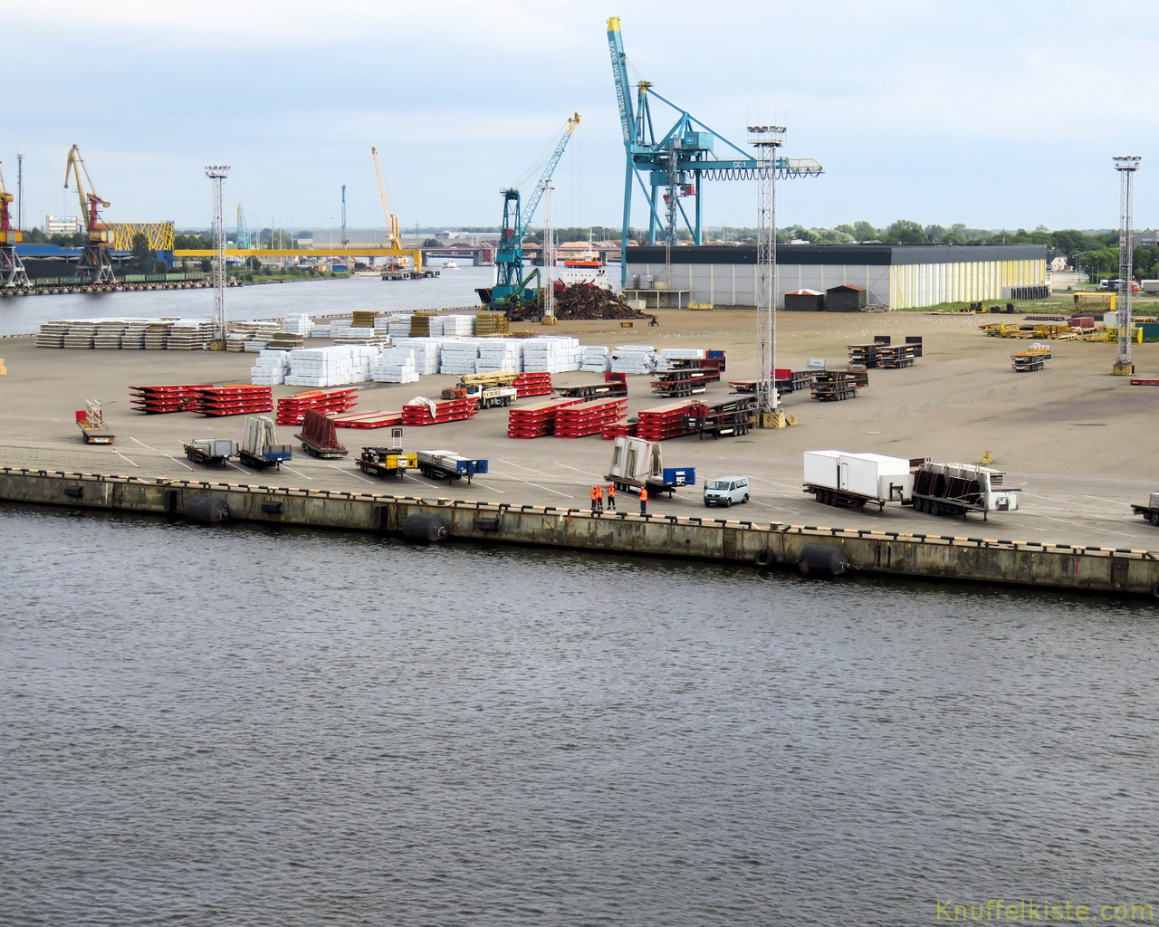 Hafen Ventspils