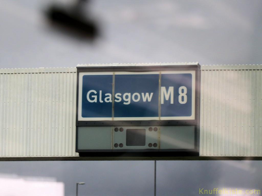 weiter Richtung Glasgow...