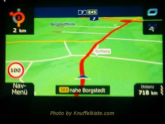 Navi sagt noch 718 Km bis zum Ziel.na dann mal los...