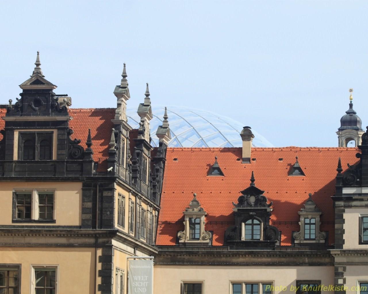 Glaskuppel des Schlosses