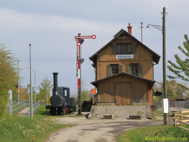 Bahnhof der zum Museum gehört