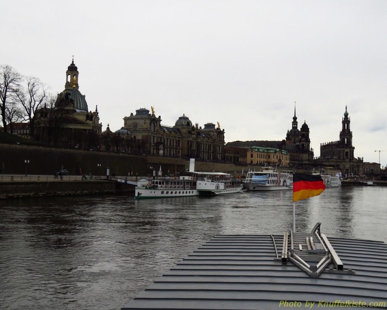 zurück in Dresden am Anlieger!