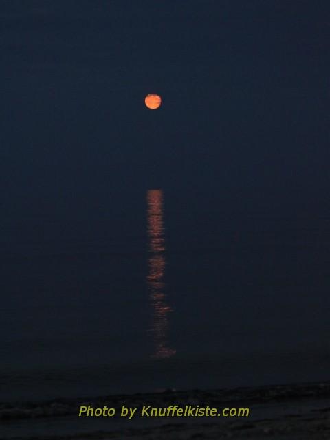 Der Mond fällt ins Wasser...