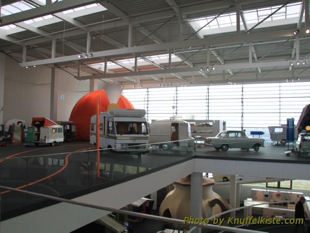 Obere Etage der Ausstellung