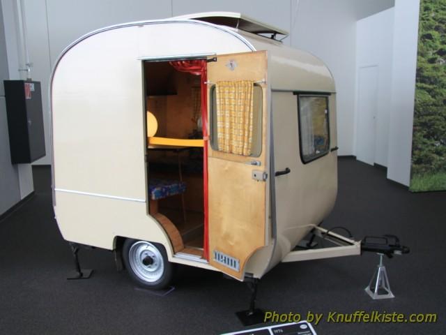 kleiner Wohnwagen