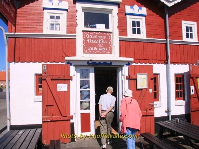 In Skagen am Hafen,wo wir den lecker Fisch gekauft haben