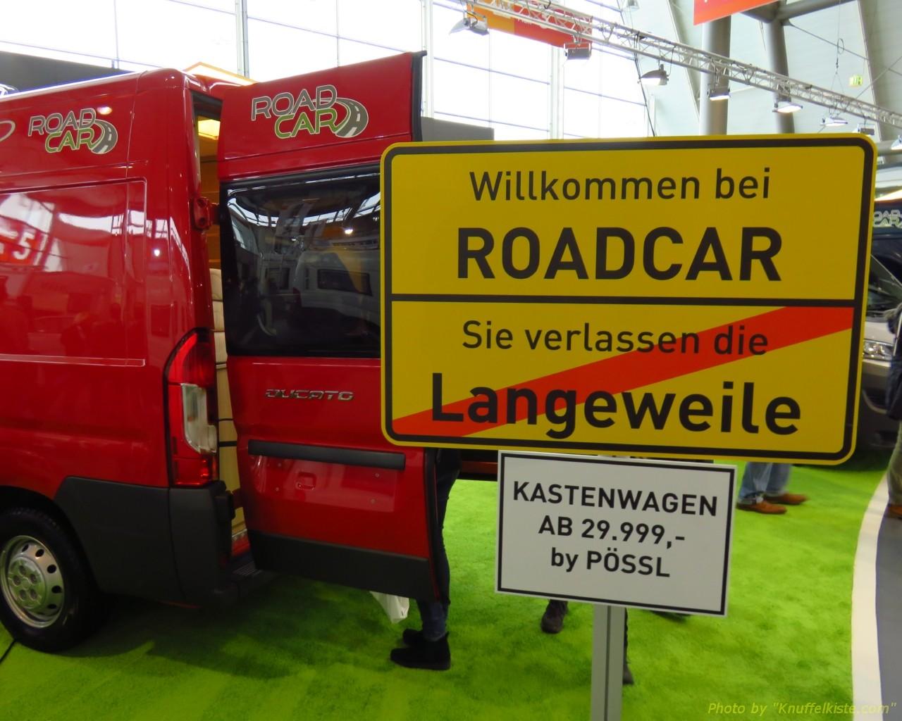 neben Pössl/Globecar gleich Clever und Roadcar...