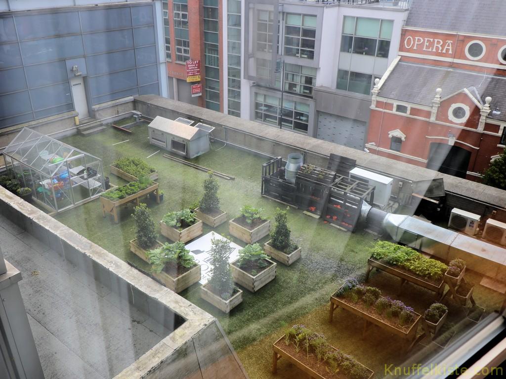 Mein Blick aus dem Hotelzimmer!
