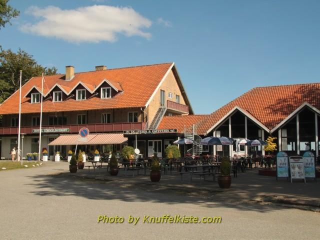 """Am """"Himmelbergjet"""" das Hotel und Restaurant"""
