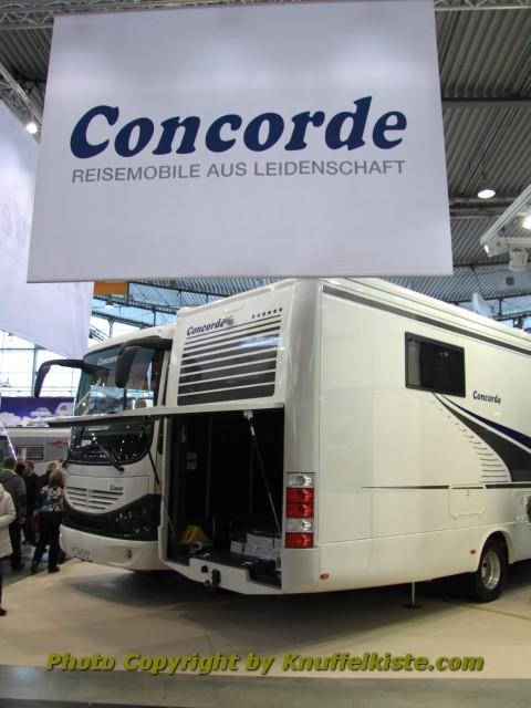 Concorde Messestand