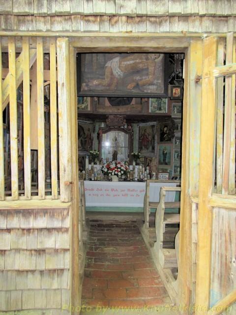 Holzkapelle wunderschön...