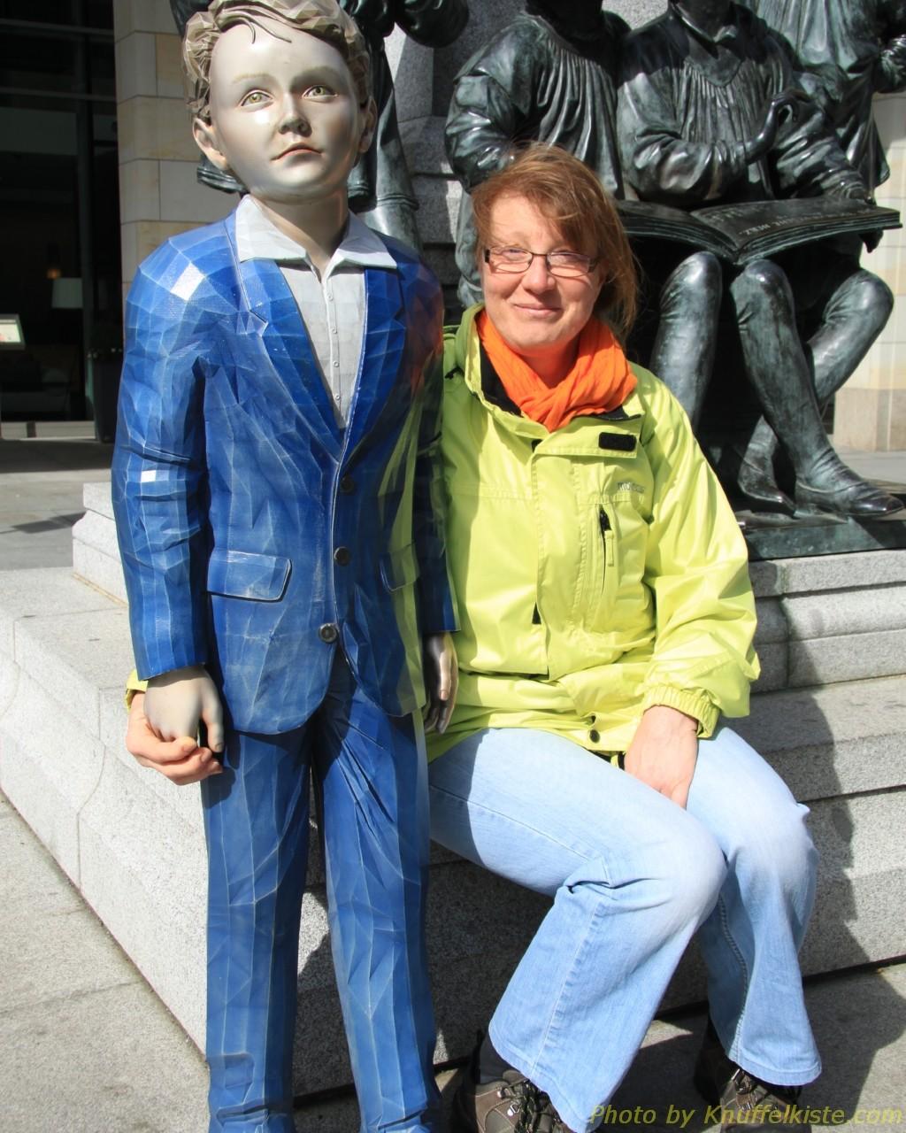 Gabi und ein junger Mann :-)