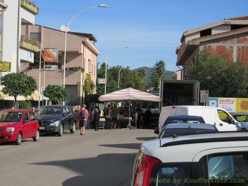 Markt in Muravera