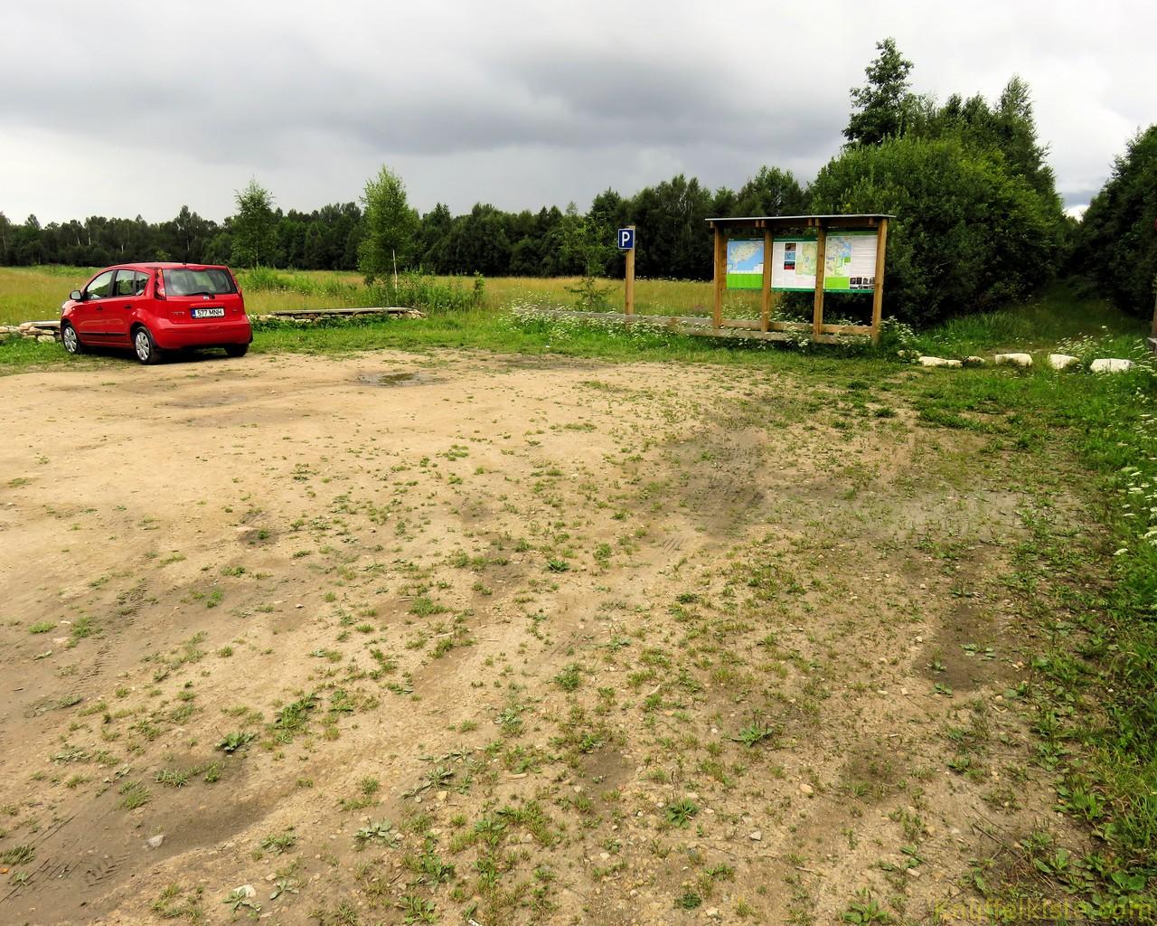 Parkplatz am Moorsee