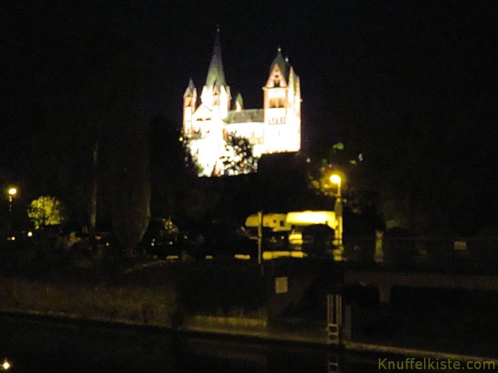 auf dem Nachhauseweg! der Dom bei Nacht!