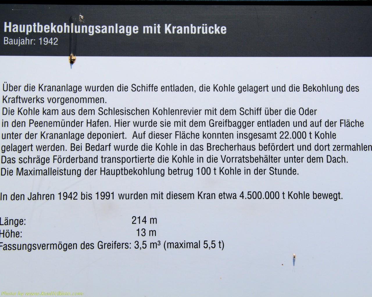 Hauptbekohlungsanlage und Kranbrücke...