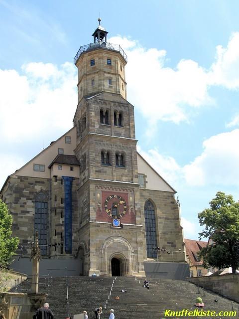 Kirche an der die Spiele stattfinden