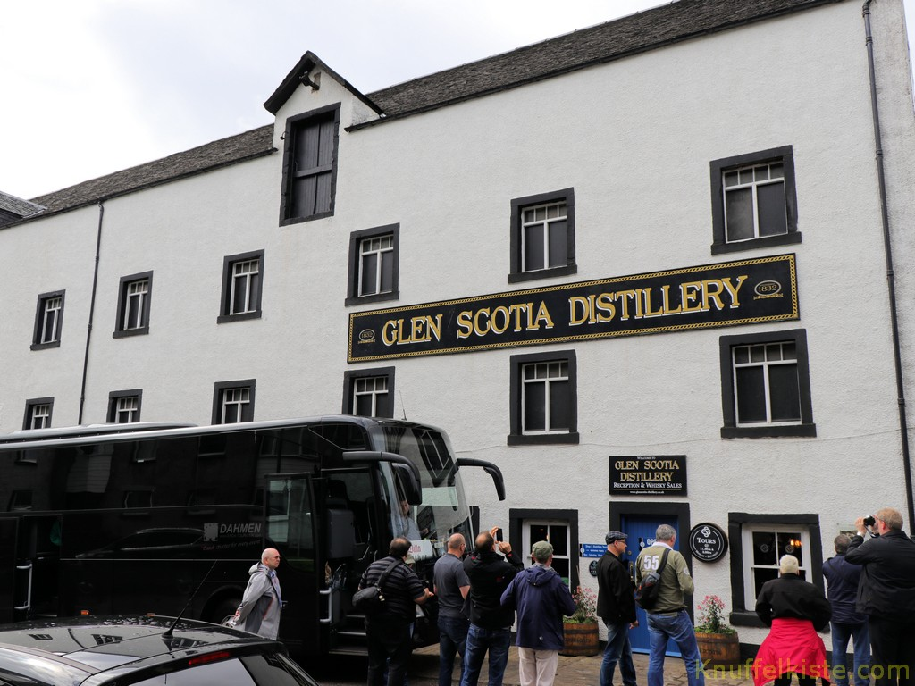 "Ankunft bei ""Glen Scotia"""