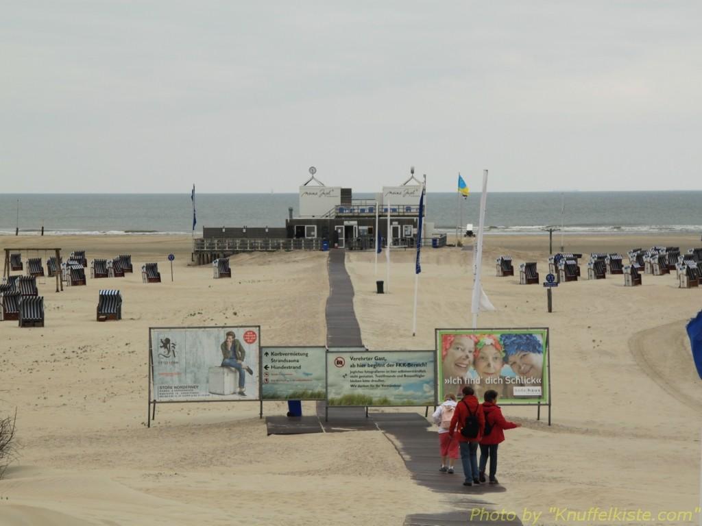 ...super breiter Strand hier!