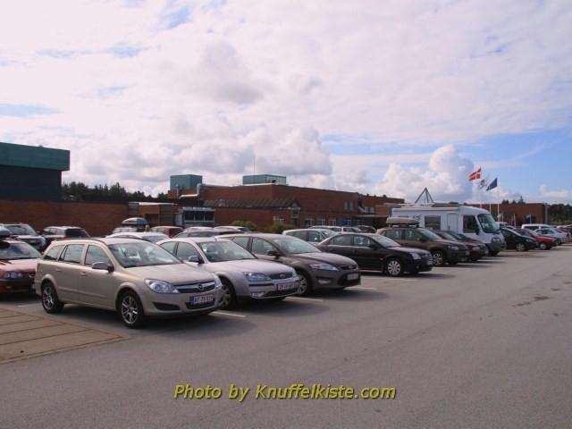 Parkplatz des Nordsee Ozenarium