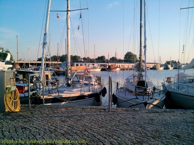 Jachthafen von Karlshagen