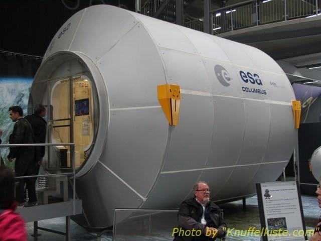 ESA Forschungsstation die an der ISS-Weltraumbasis installiert ist (Trainingsversion)
