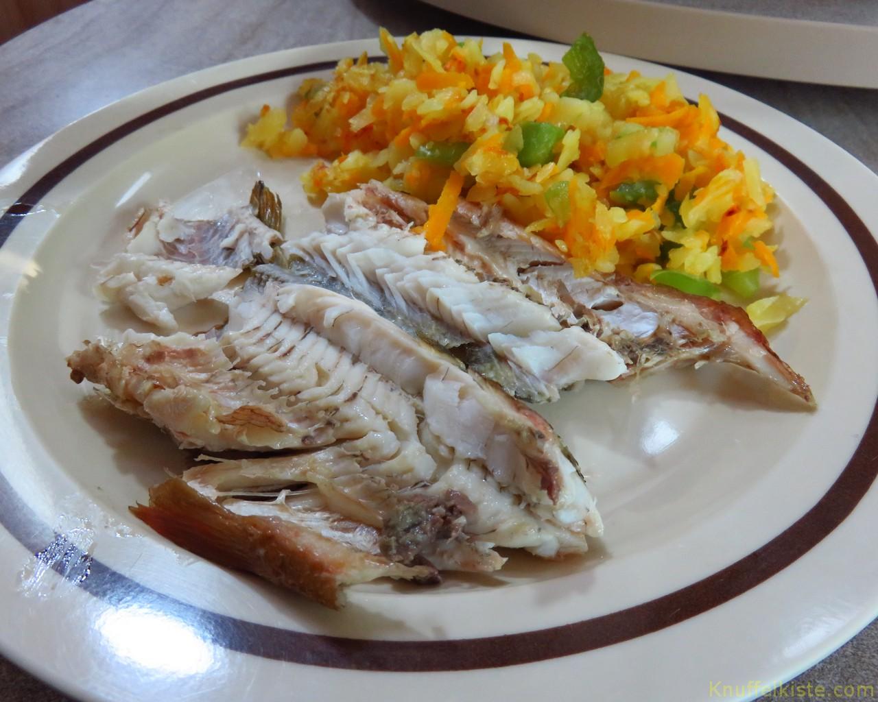 unser Essen Räucherfisch