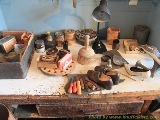 im Museum - Schuhmacherwerkstatt